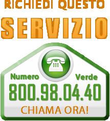 Richiedi il servizio all' 800.980.440